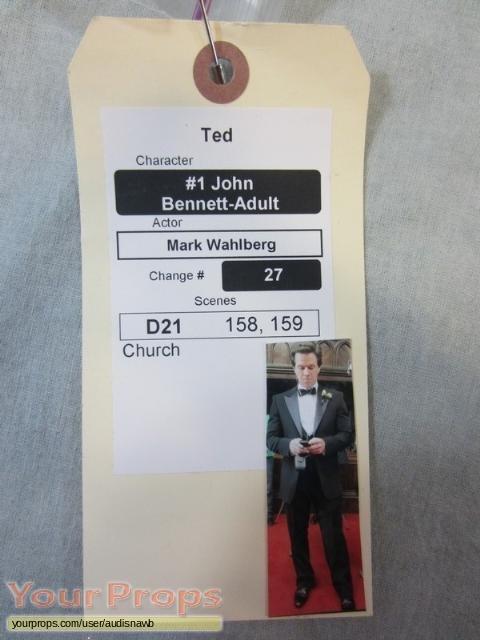 Ted original movie prop