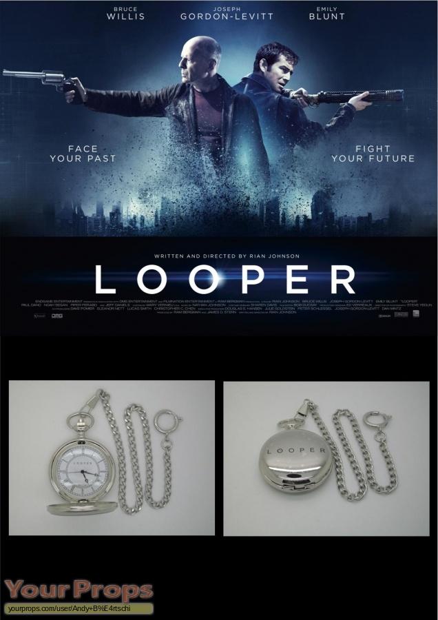 Looper replica film-crew items