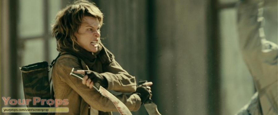 Resident Evil  Extinction original movie prop