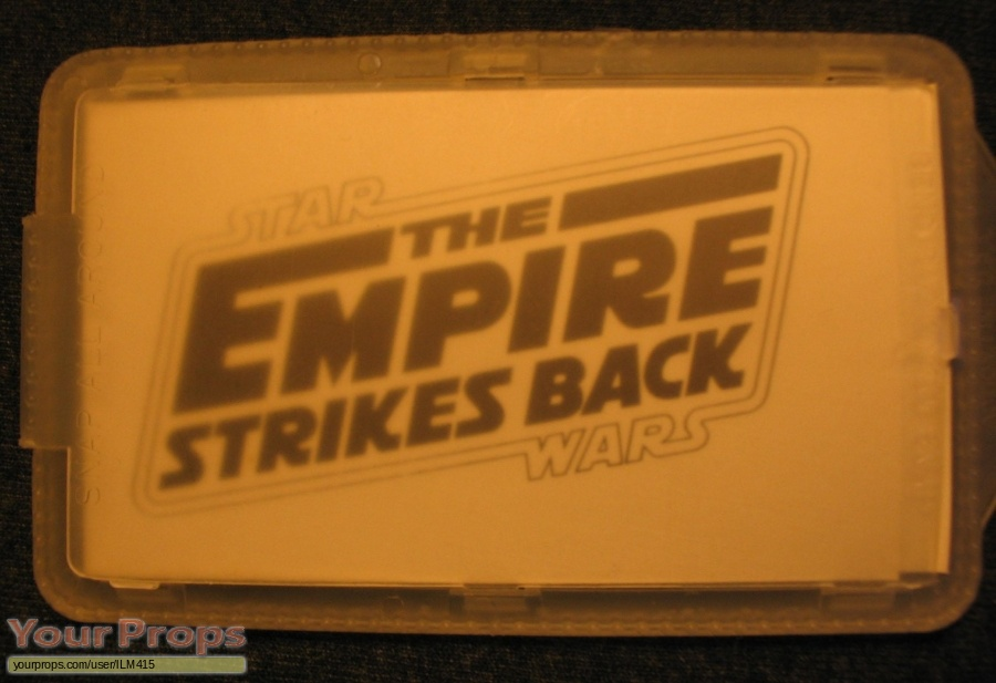 Star Wars  The Empire Strikes Back original film-crew items