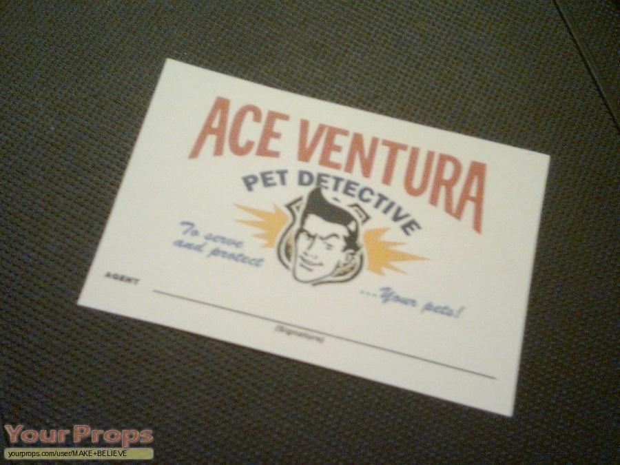 Ace Ventura  Pet Detective replica movie prop