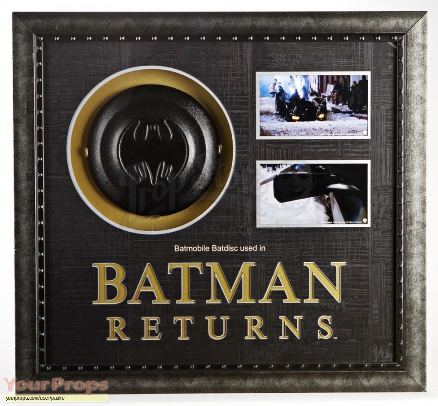 Batman Returns original movie prop