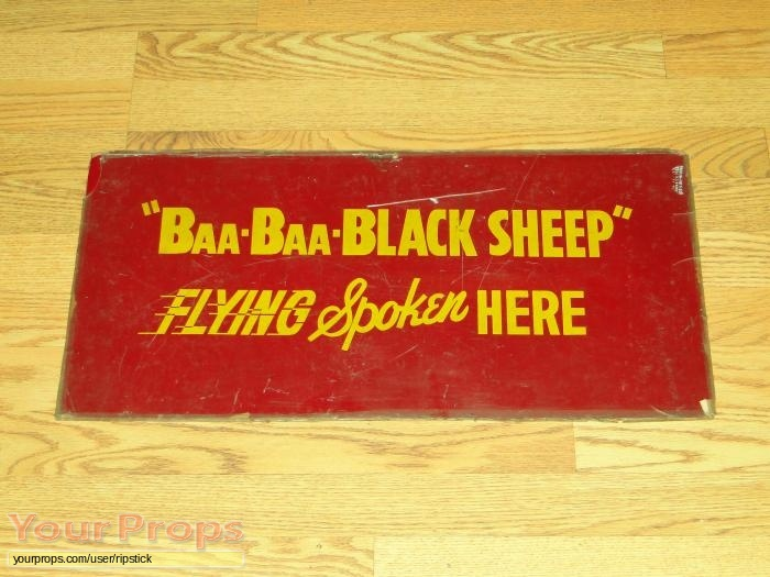 Baa Baa Black Sheep original movie prop