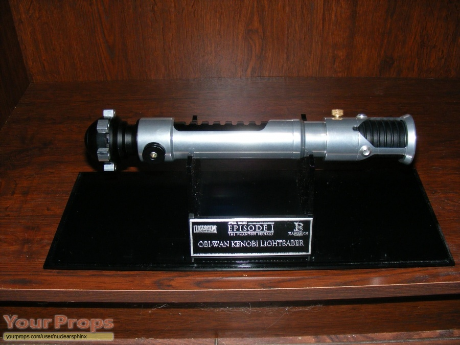 Star Wars  The Phantom Menace replica movie prop