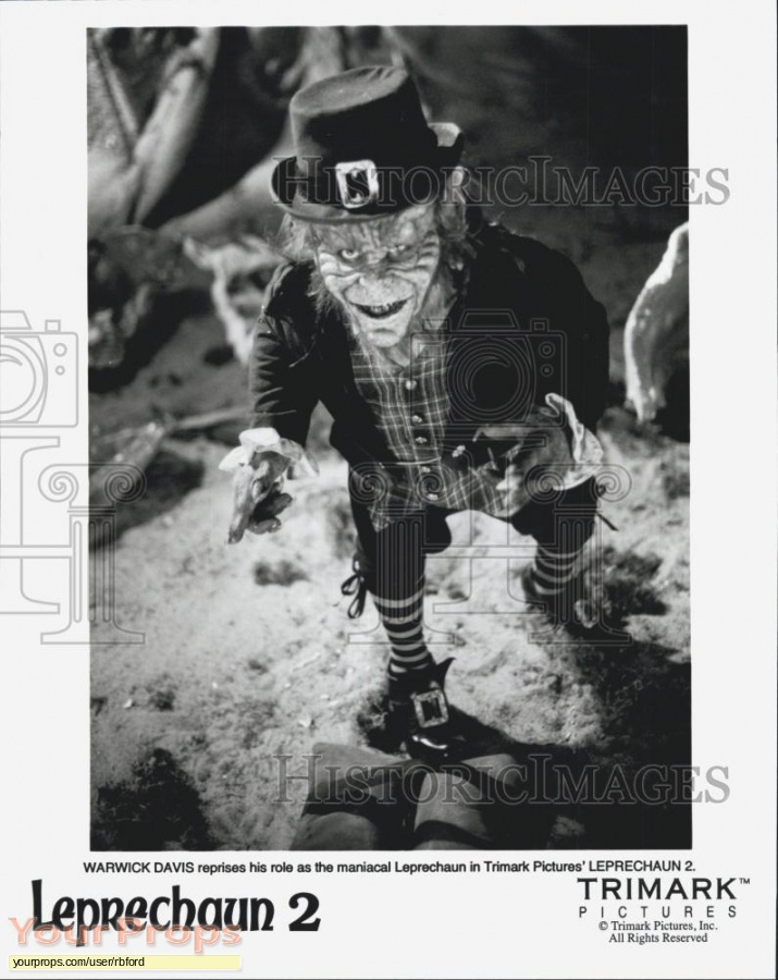 Leprechaun 2 original movie costume