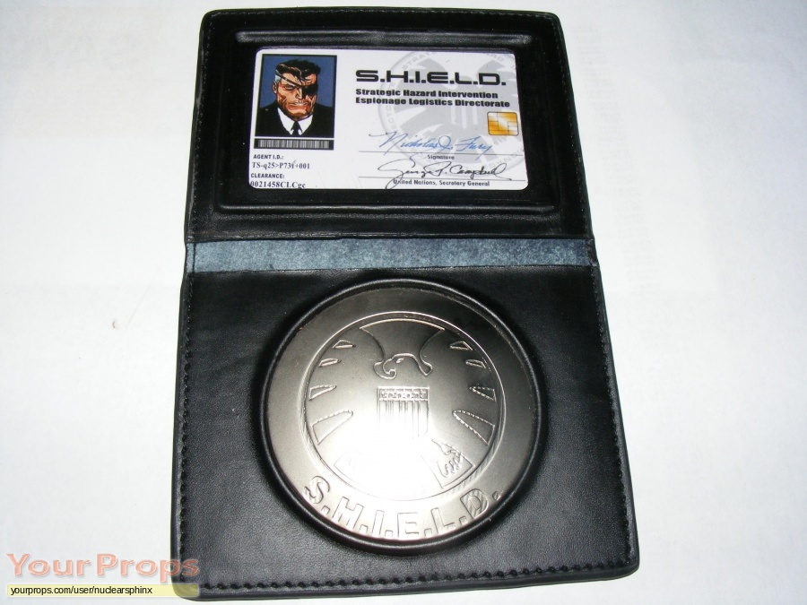 Nick Fury  Agent of Shield replica movie prop