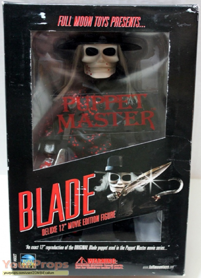 Puppet Master Sideshow Collectibles movie prop