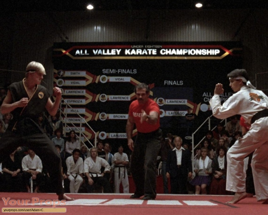 The Karate Kid replica movie prop