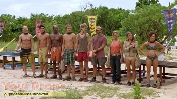 Survivor Philippines original movie prop