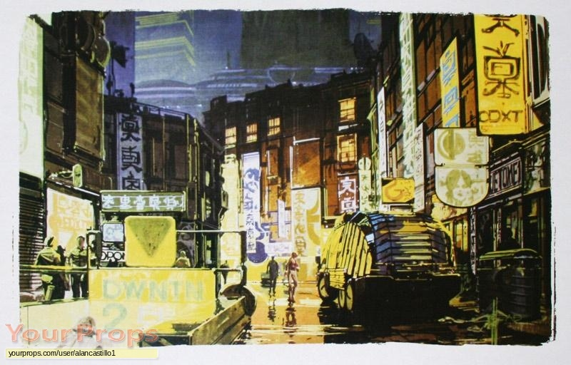 Blade Runner replica production artwork