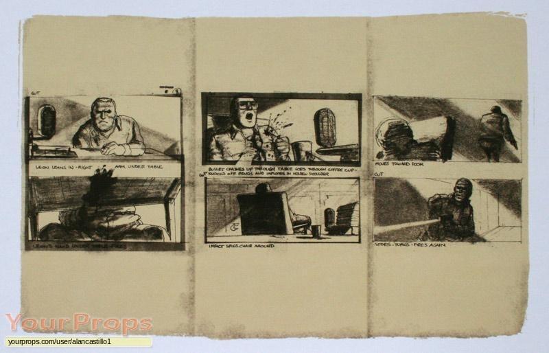 Blade Runner replica production artwork