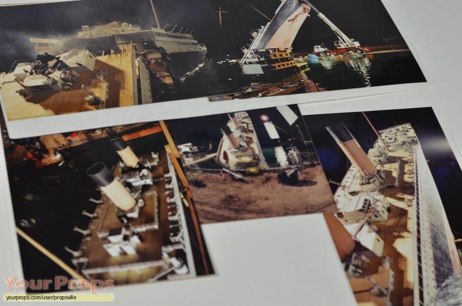 Titanic original production material