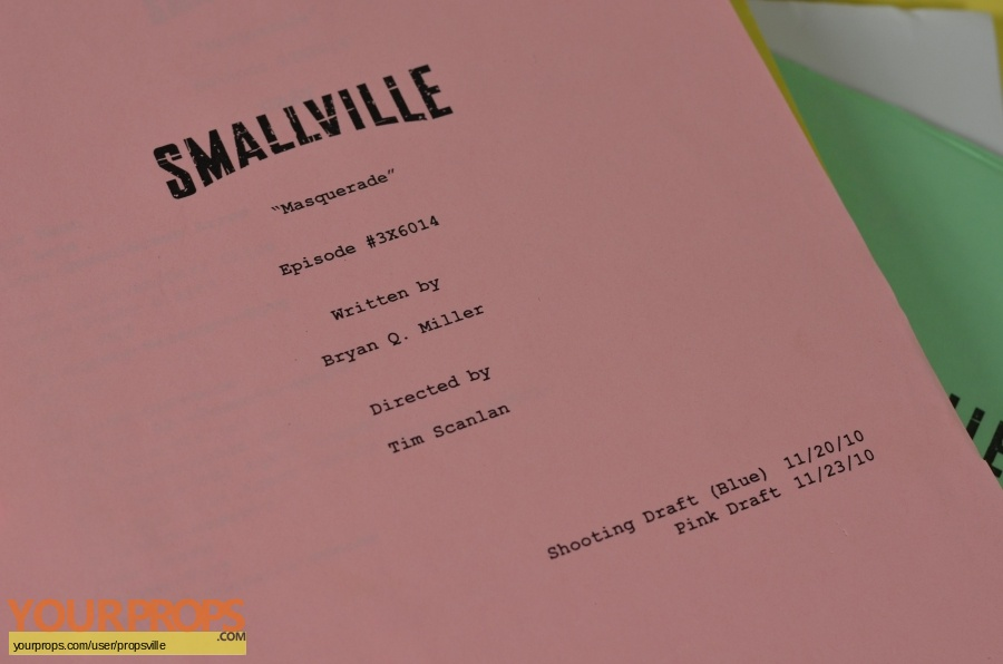 Smallville original production material
