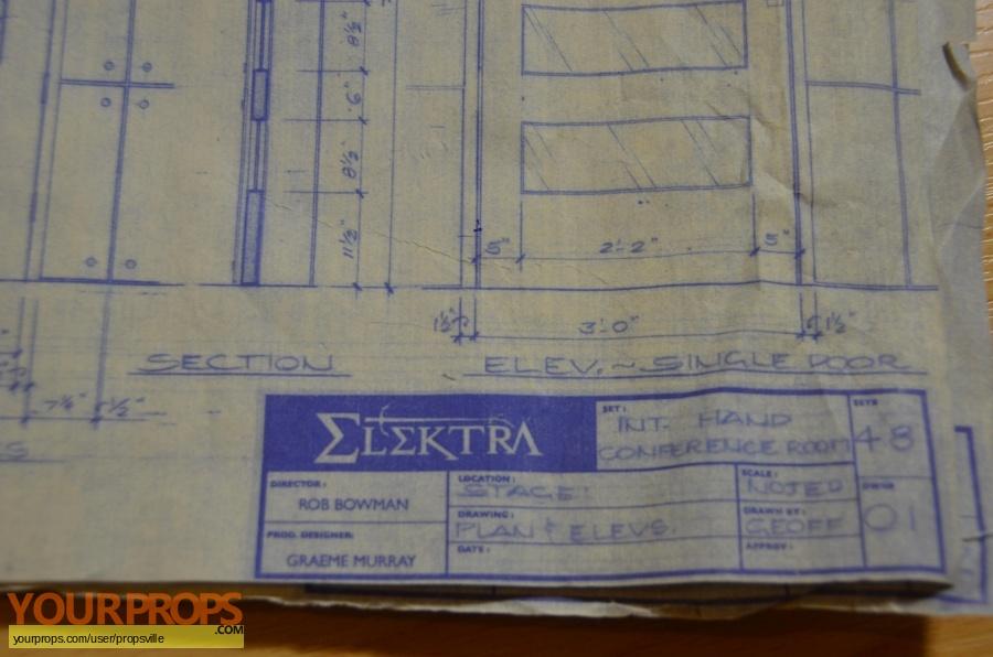 Elektra original production material