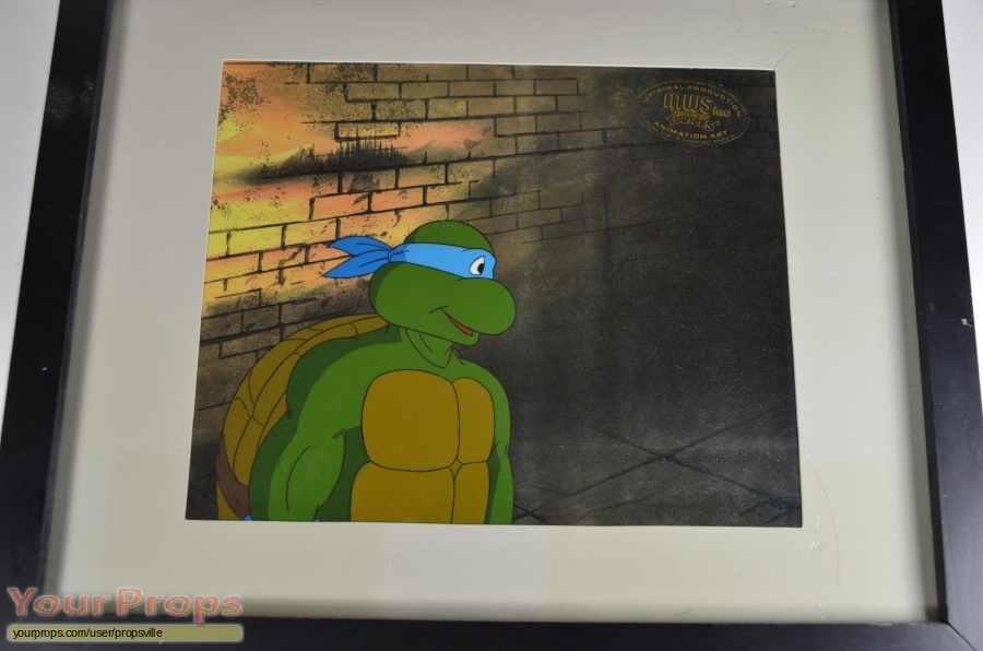 Teenage Mutant Ninja Turtles original production artwork