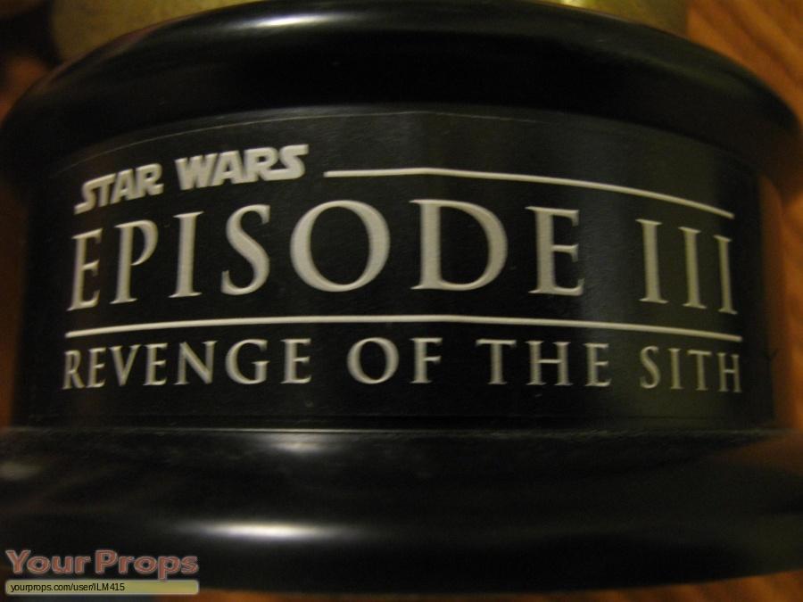 Star Wars  Revenge Of The Sith original film-crew items