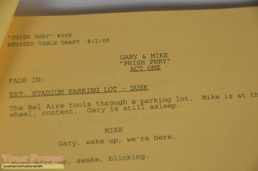 Gary   Mike (TV series) original production material