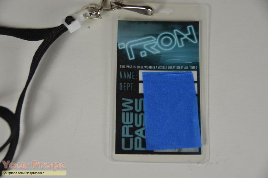Tron  Legacy original film-crew items