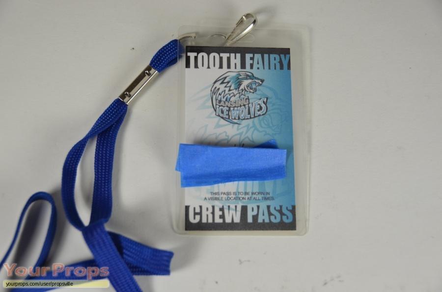 The Tooth Fairy original film-crew items