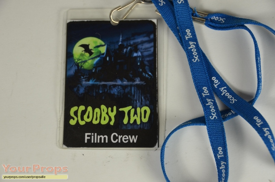 Scooby-Doo 2  Monsters Unleashed original film-crew items