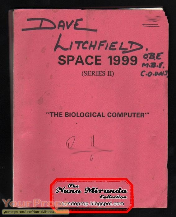 Space  1999 original production material