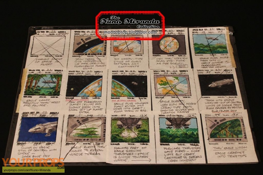 Space  1999 original production material