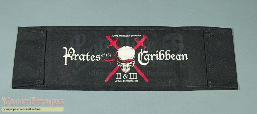 Pirates of the Caribbean  Dead Mans Chest original production material