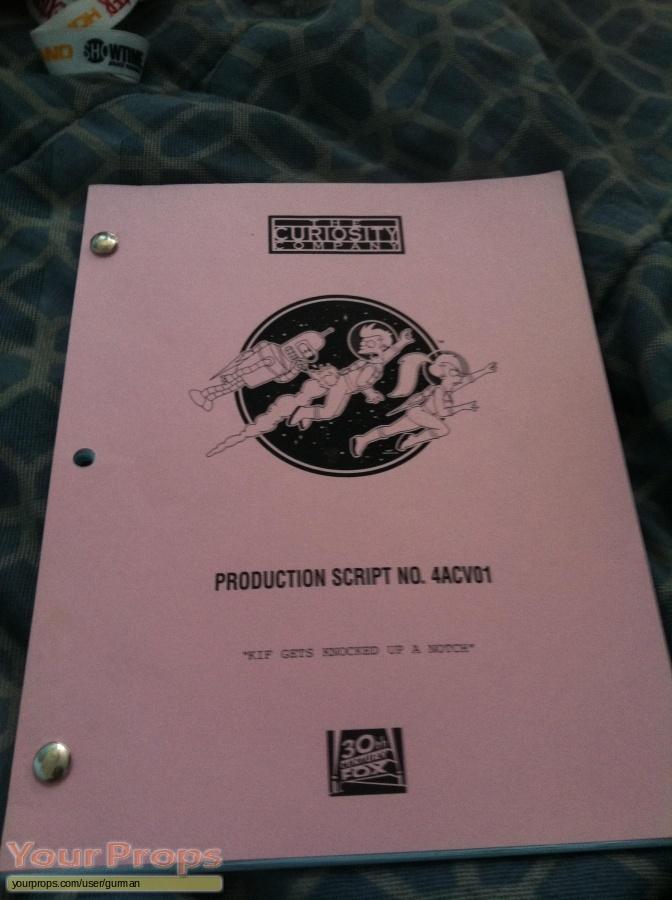 Futurama original production material
