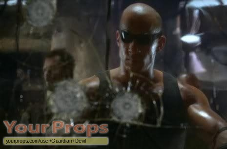 The Chronicles of Riddick original set dressing   pieces