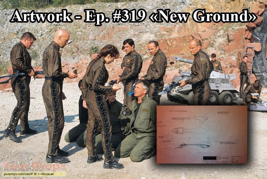 Stargate SG-1 original production artwork