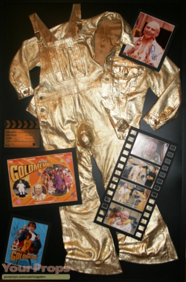 Austin Powers  Goldmember original movie costume