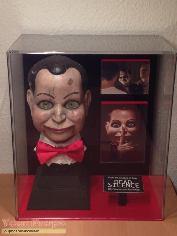 Dead Silence original movie prop