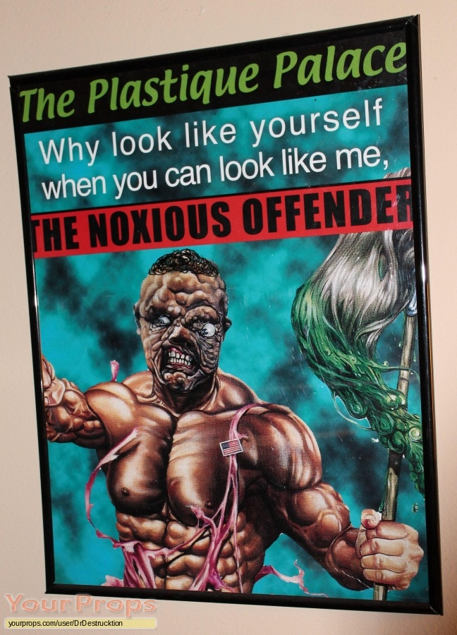 Citizen Toxie  The Toxic Avenger IV original movie prop