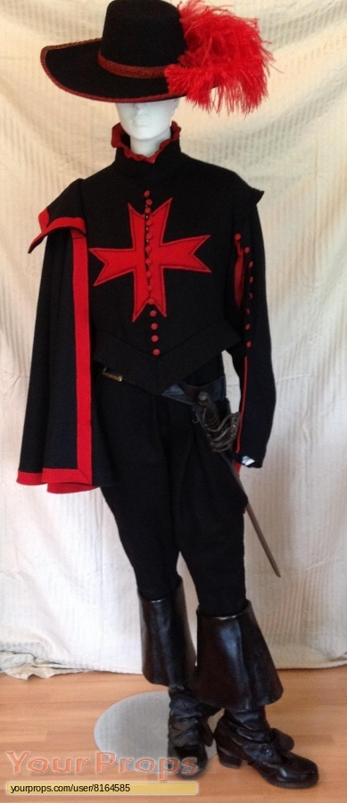 The Three Musketeers original movie costume