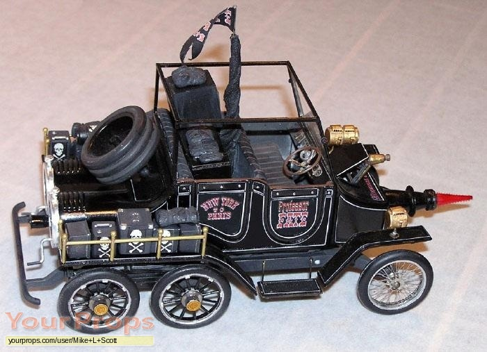 The Great Race scaled scratch-built model   miniature