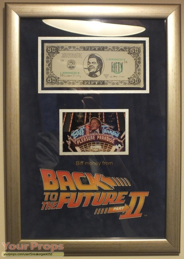 Back To The Future 2 original movie prop