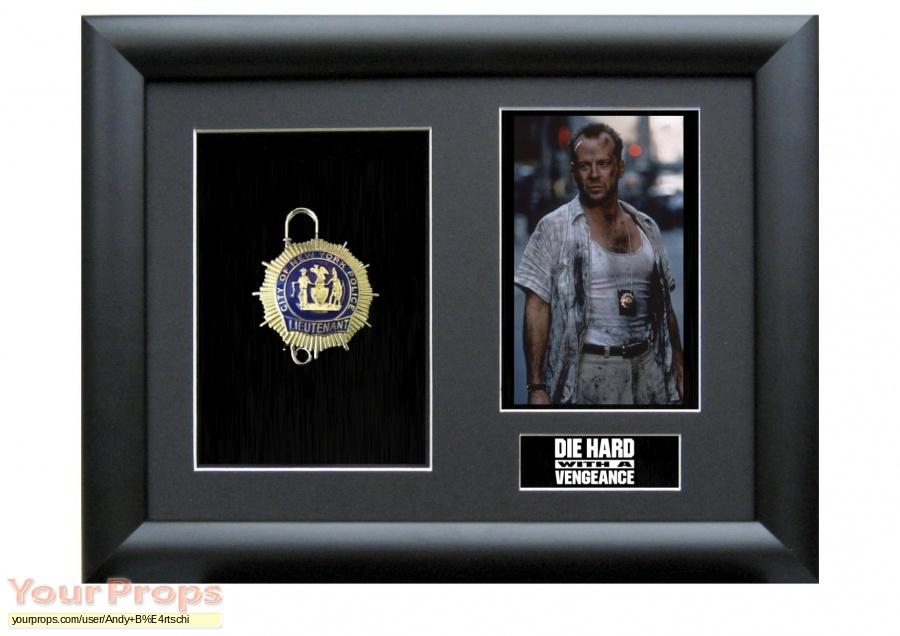 Die Hard  With A Vengeance original movie prop