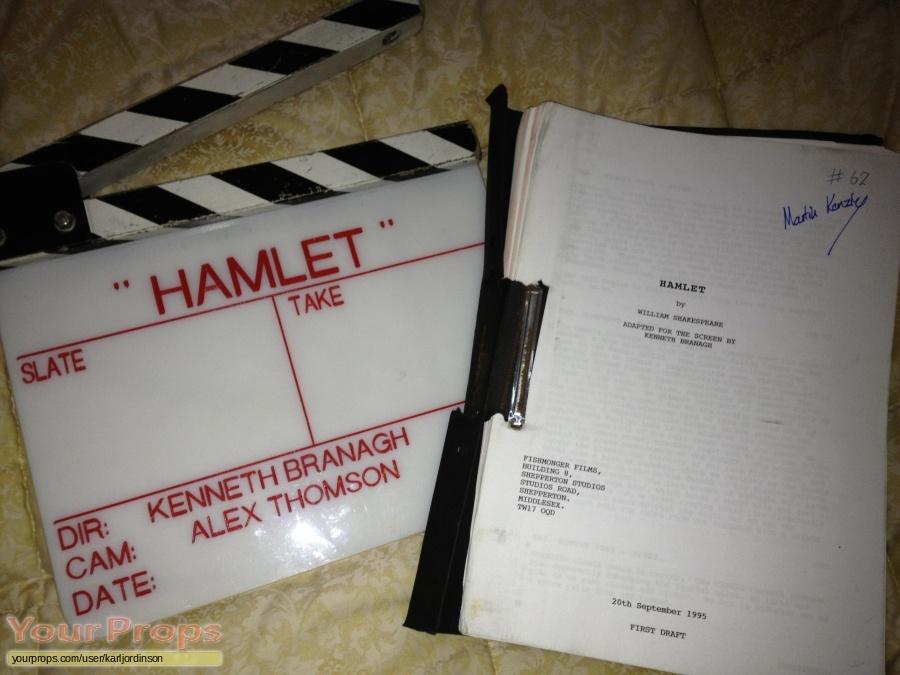Hamlet original production material