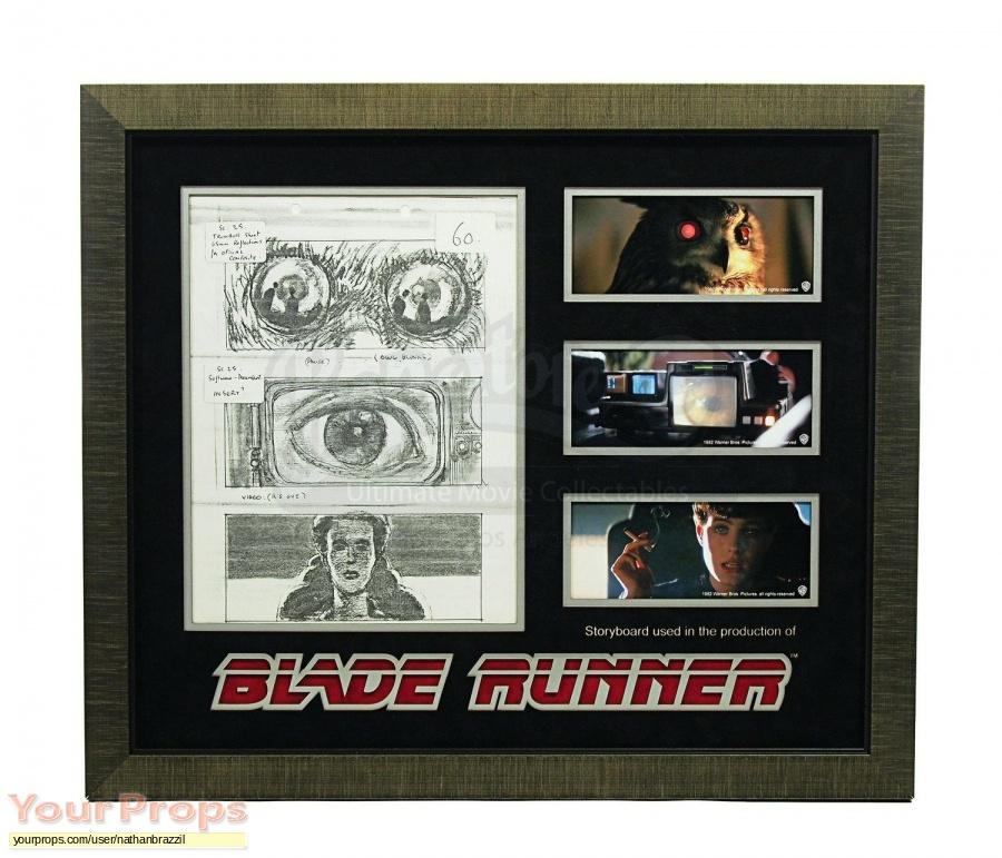 Blade Runner original production material