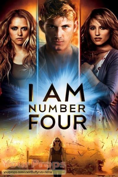 I Am Number Four original production material