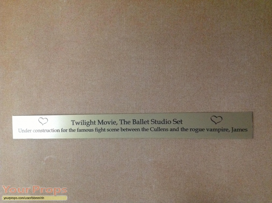 Twilight original set dressing   pieces