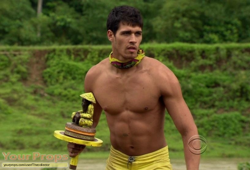 Survivor Philippines original movie prop