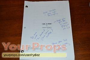 The A-Team original production material