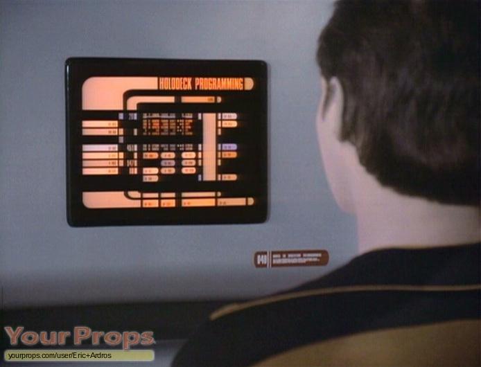 Star Trek  The Next Generation replica set dressing   pieces