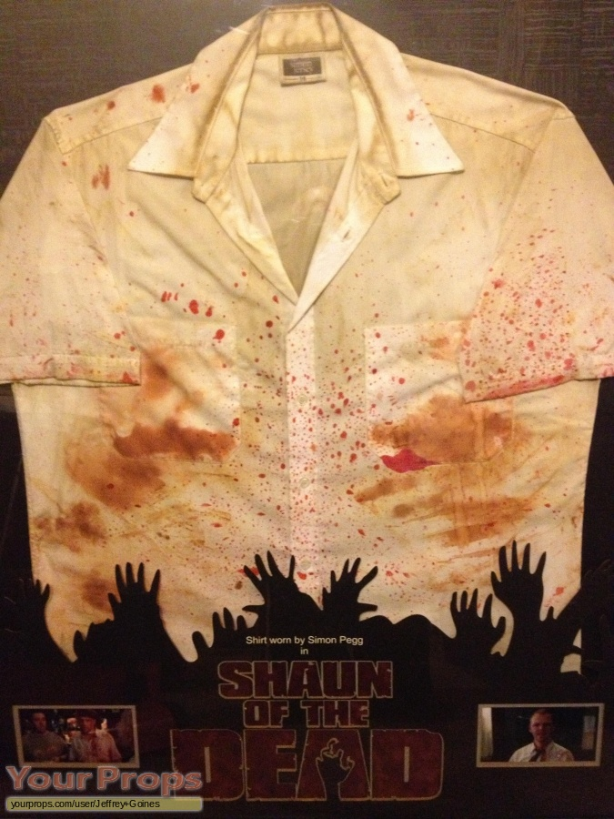 Shaun Of The Dead original movie costume