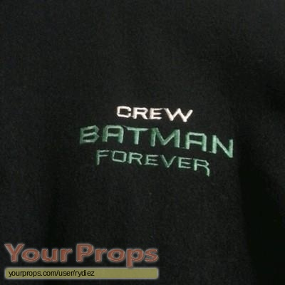 Batman Forever original film-crew items