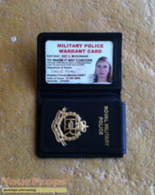 Red Cap Rmp And Army Id S Replica Tv Series Prop