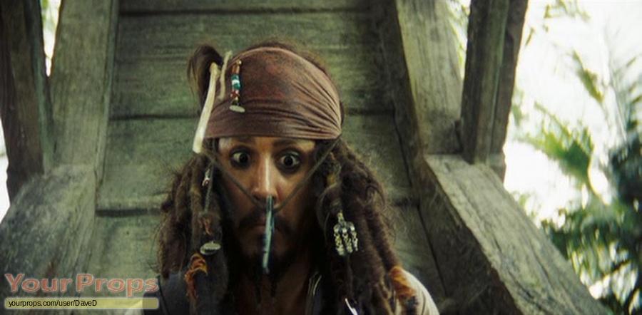 Pirates of the Caribbean  Dead Mans Chest original movie prop