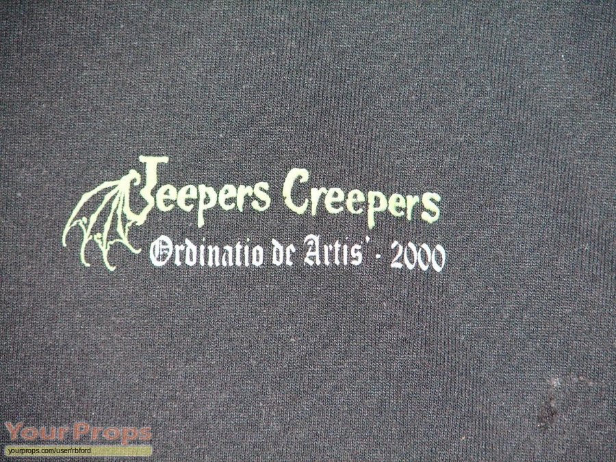 Jeepers Creepers original film-crew items
