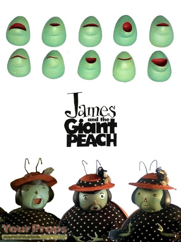 James and the Giant Peach original movie prop